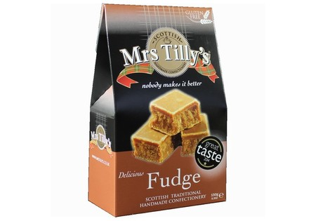 Mrs Tillys Delisious Fudge Gift Box (150g)