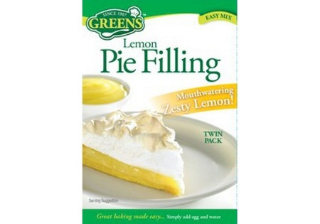 Greens  Lemon Pie Filling Mix 170g