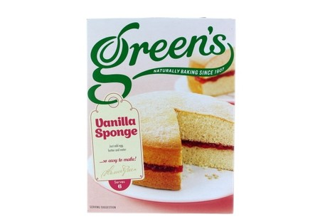 Greens  Vanilla Sponge Mix 211g