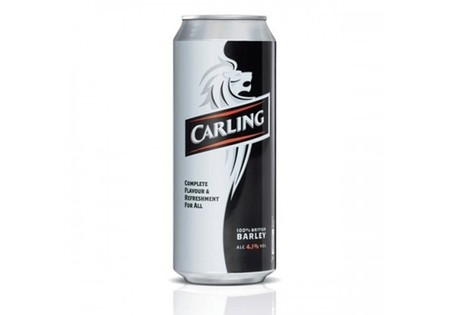 Carling  Lager 500ml 4% Alcohol