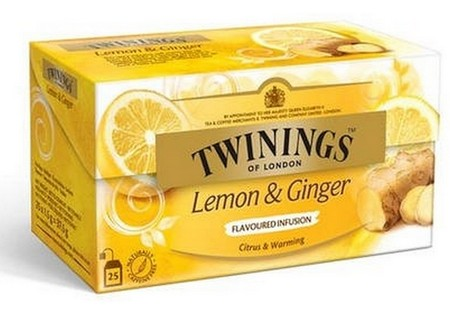Twinings Infusions Lemon & Ginger 25 ST