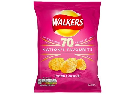Walkers Crisps Prawn Cocktail 32.5G