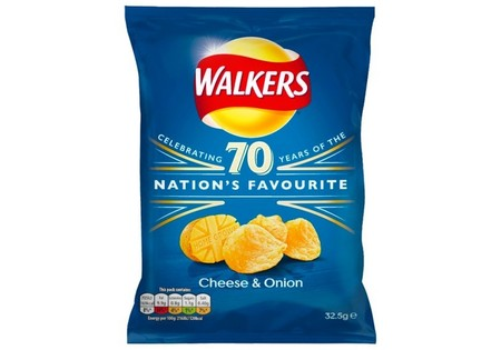 Walkers Crisps Cheese & Onion 32.5G