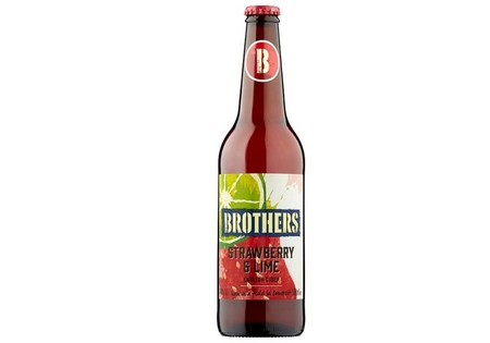 Brothers Strawberry And Lime Bottle 500ML