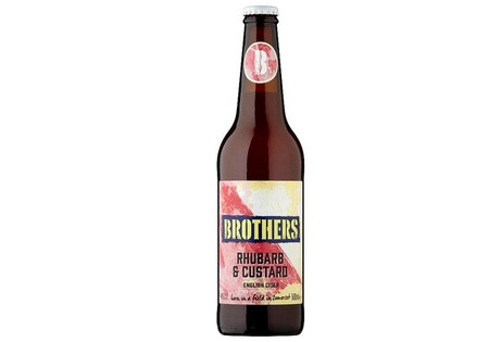 Brothers Rhubarb And Custard Bottle 500ML