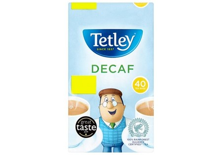 Tetley Decaffienated Teabags Pm1.75 40'S