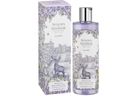 Woods of Windsor Lavender Bath & Showergel 250 ml