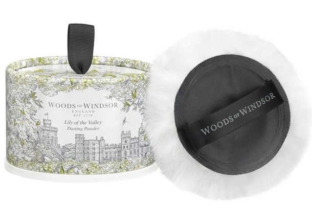 Woods of Windsor Lily of the Valley Dusting Powder 100 gr