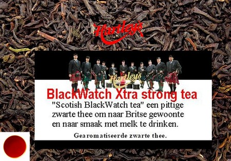 Losse Zwarte Thee Scottish  BlackWatch Xtra strong Breakfast tea 100g
