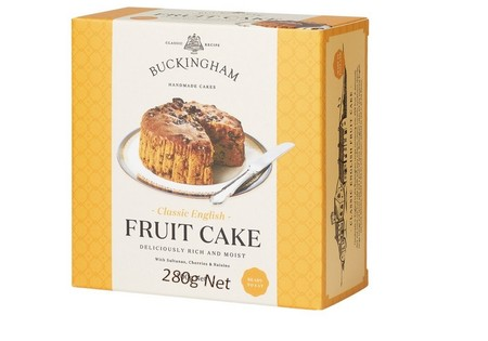 BUCKINGHAM Classic English fruit cakes 700g