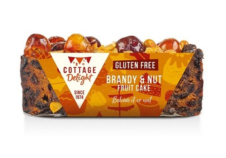 COTTAGE DELIGHT Brandy and Nut Cake 350 gr