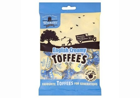 Walkers  Nonsuch English Creamy Toffee Bag 150 G