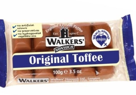 Walkers Nonsuch Original Toffee Slab 100g