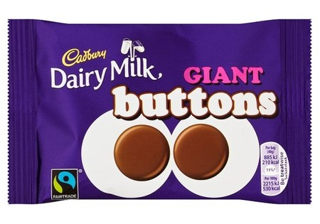 Cadbury Buttons Large 40g