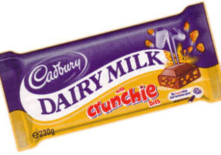 Cadbury Dairy Milk Chocolate Crunchie 200g
