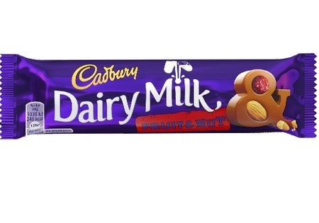 Cadbury  Dairy Milk Fruit and Nut Std 49g