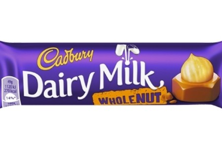 Cadbury  Dairy Milk Wholenut Std 49g