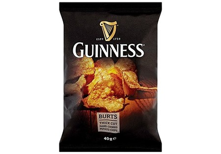 Burts Guinness Flavour Potato Chips 40g