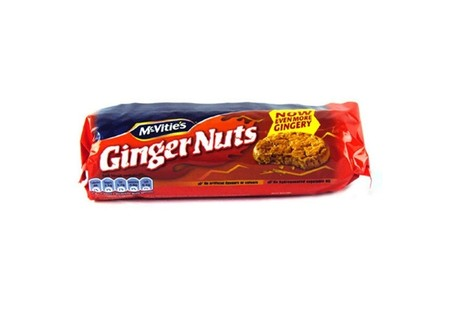 McVities Ginger Nuts 250g