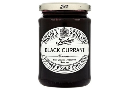Tiptree Jam Blackcurrant Conserve 340G