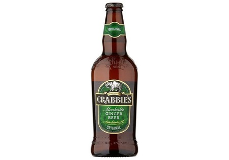 Crabbies Alcoholic Ginger Beer 500ml 4% Alcohol