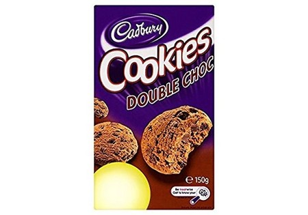Cadbury Cookies Double Choc 150g