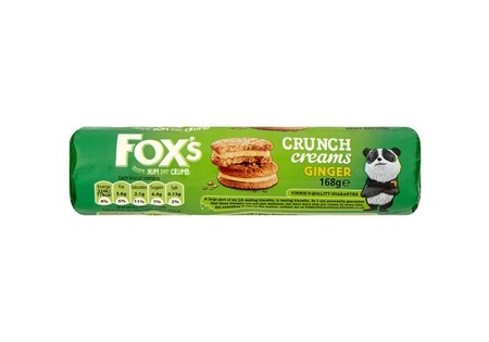 Foxs Ginger Crunch Creams 168g