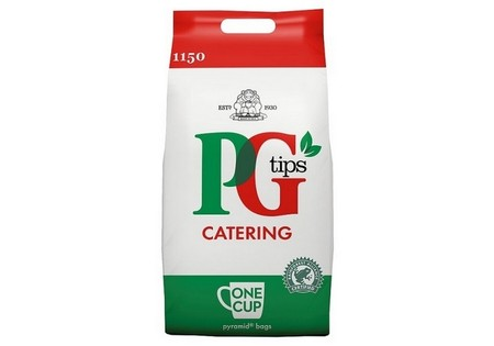 PG Tips  Pyramid 1 Cup Teabags 1150'S