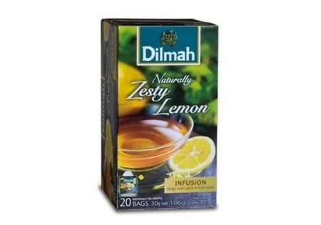 Dilmah Kruidenthee Naturally Zesty Lemon 20 st