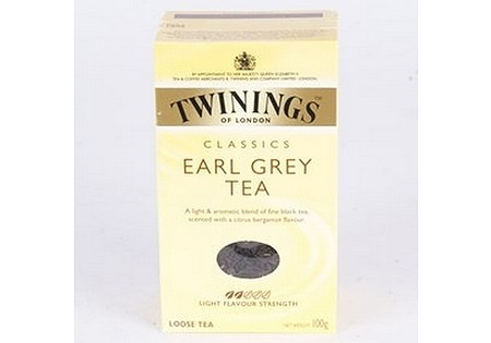 Twinings Zwarte Thee Earl Grey  losse thee in karton 100gr