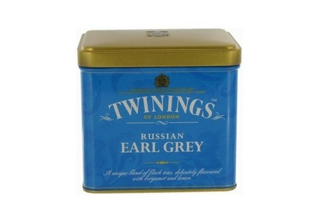 Twinings Zwarte Losse Thee in blik Russian Earl Grey 150gr