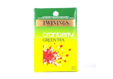 Twinings Green Tea Cranberry 20 pack