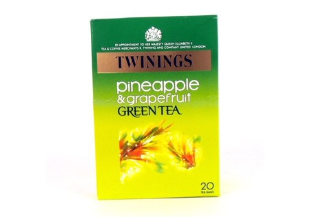 Twinings Green Tea Pineapple and Grapefruit 20s