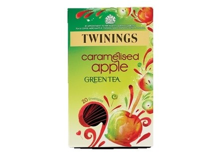 Twinings Green Tea Caramelised Apple 20s