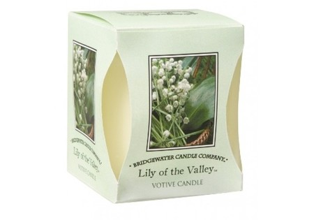 Bridgewater Geurkaarsje Lily of the Valley