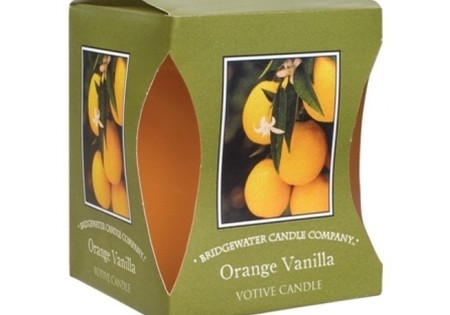 Bridgewater Geurkaarsje Orange Vanilla