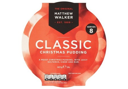 Matthew Walker Classic Christmas Pudding 800G