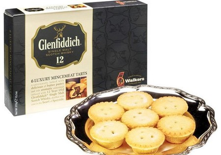 Walkers Luxury Mince Pies with Glennfiddich