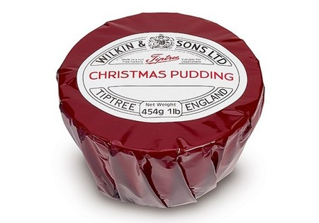 Tiptree Christmas pudding Cello 454g